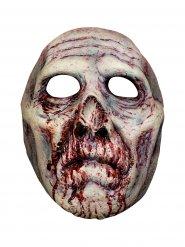 Maschera da zombie insanguinata per adulto