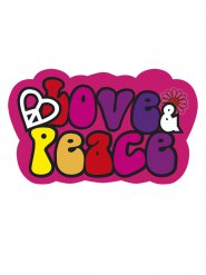 Decorazione Hippy Love & Peace
