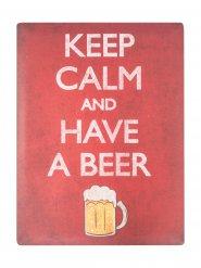 Decorazione Keep Calm birra 29 x 40 cm