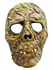 Maschera zombie verde halloween