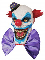 Maschera in lattice clown spaventoso halloween