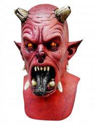 Maschera lattice demone rosso halloween