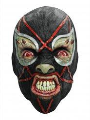 Maschera in lattice da lottatore demoniaco