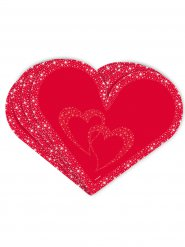 20 Tovaglioli a Cuore San Valentino