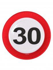 8 piatti numero 30