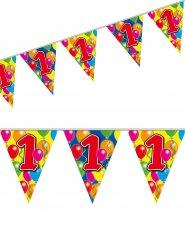 Ghirlanda con festioni multicolore numero 1