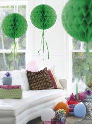 Sfera decorativa a nido d
