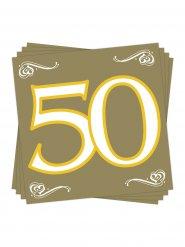 20 tovaglioli di carta numero 50