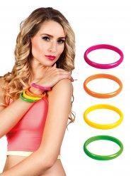 4 Braccialetti Multicolore