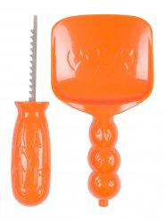 Kit per scavare succa di halloween arancione