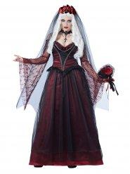 costume da sposa vampiro gotico per donna Halloween