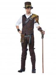 Costume da avventuriero Steampunk per uomo