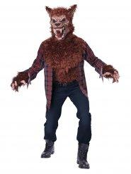 Costume da lupo mannaro terrificante per adulto Halloween