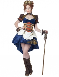 Costume donna del futuro steampunk adulto