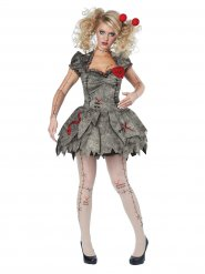 Costume bambola voodoo per donna halloween