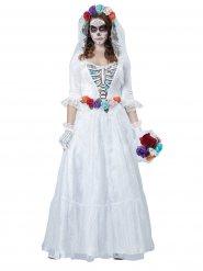 Costume sposa scheletrica halloween