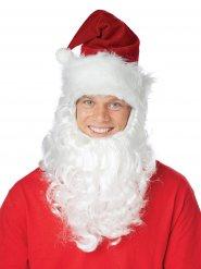 Cappello da Babbo Natale con Barba