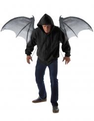 Ali da demone pipistrello 122 cm rigide