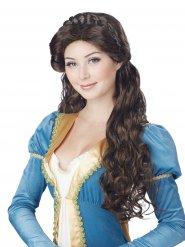 Parrucca medievale per donna