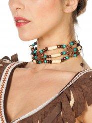 Collana indiana in perle per donna