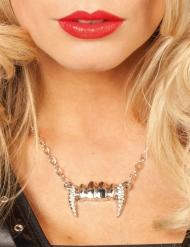 Collana denti vampiro