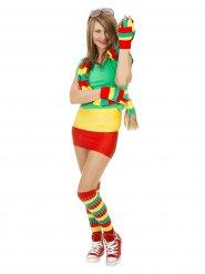Calze sportive tricolore