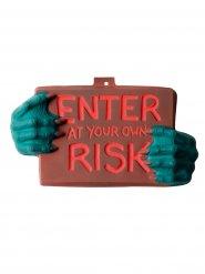 Decorazione da muro Risk 22 x 40 Halloween