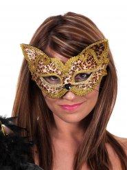 Maschera da leopardo per adulto