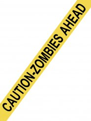Nastro segnaletico Attenti agli zombie