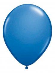 10 palloncini di colore blu metallizzato