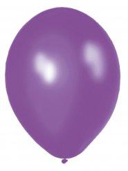 10 palloni viola 30 cm