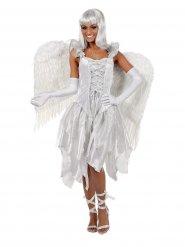 Costume da angelo bianco per donna