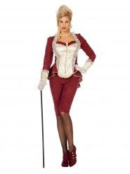 Costume barocco rosso donna