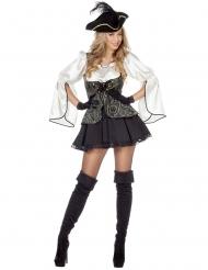 Costume da pirata elegante donna