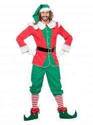 Costume da Folletto di Natale per uomo