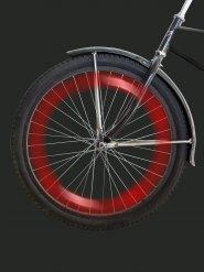 Led rosso per raggi bicicletta