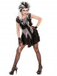 Costume da Zombie Punk per donna