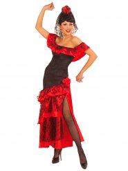 Costume da ballerina di flamenco per donna
