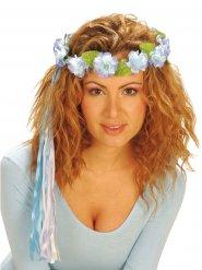 Corona di fiori multicolore per donna