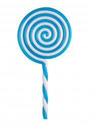 Lecca lecca blu in plastica