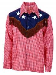 Camicia da cowboy in taglia grande per uomo