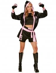 Costume da campionessa di boxe sexy per donna