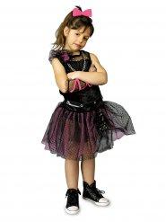 Costume punk anni 80 per bambina