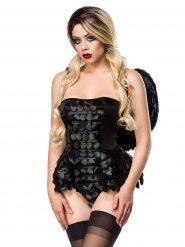 Costume da angelo gotico per donna