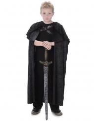 Mantello in pelliccia per bambino