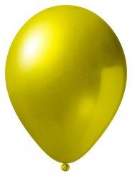 24 Palloncini metallizzati gialli