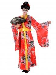 Costume geisha rosso per donna