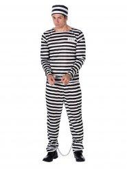 Costume da prigioniero per uomo