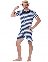 Costume da bagno retrò per uomo