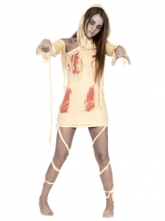 Costume da mummia insanguinata per donna halloween